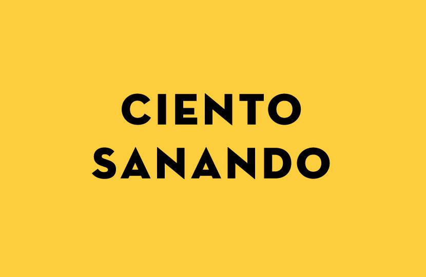 CIENTO SANANDO