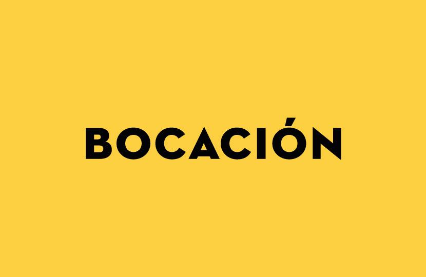 BOCACIÓN
