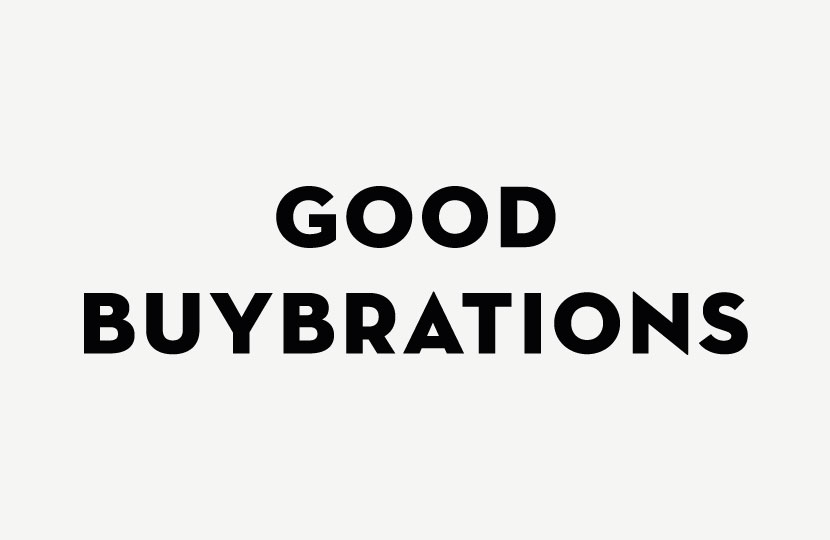 GOOD BUYBRATIONS